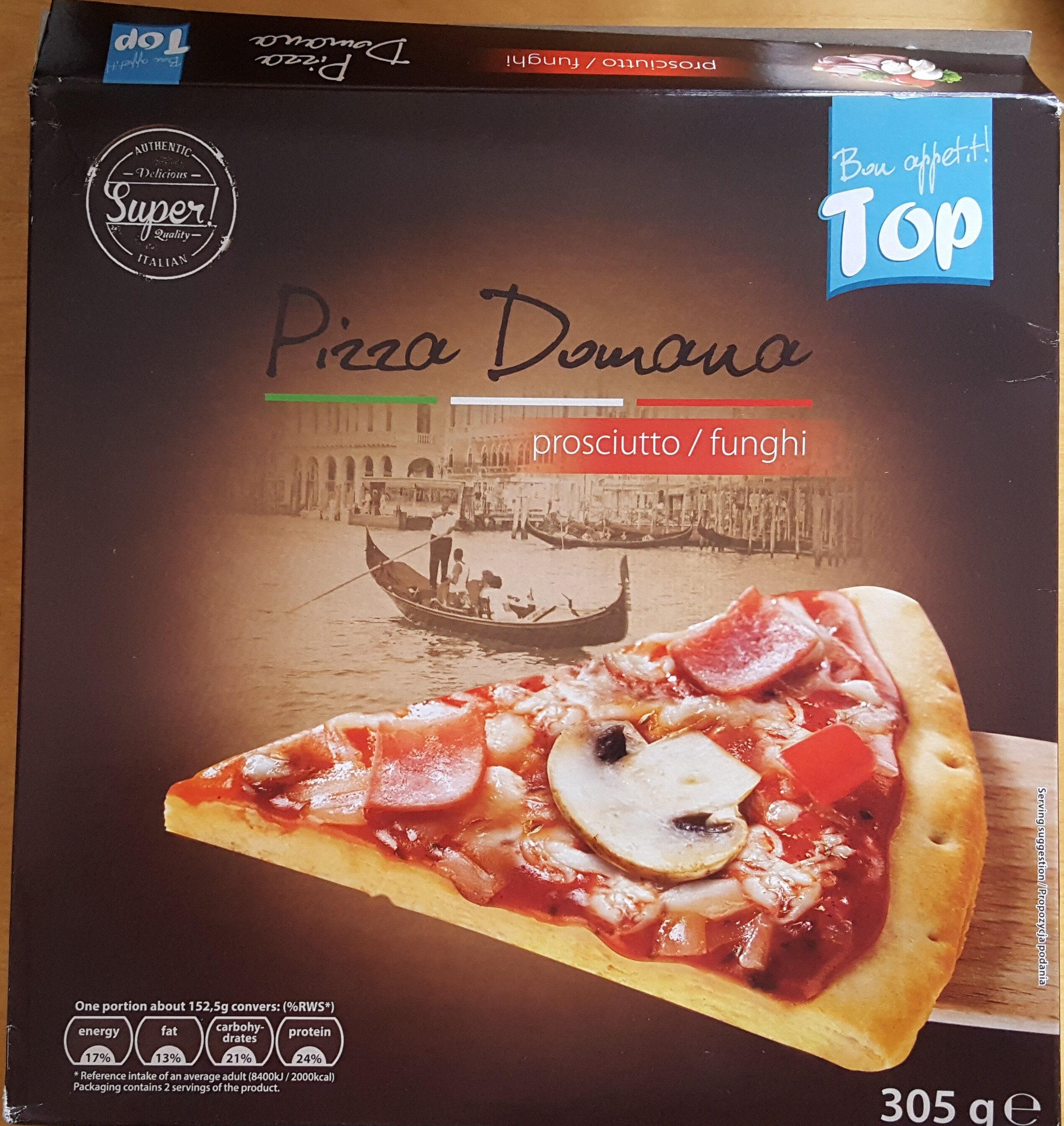 Pizza donuana - Produit - sv