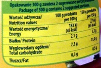 Pieczarki marynowane - Nutrition facts - en