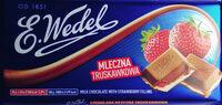Czekolada mleczna z nadzieniem truskawkowym - Produkt - pl
