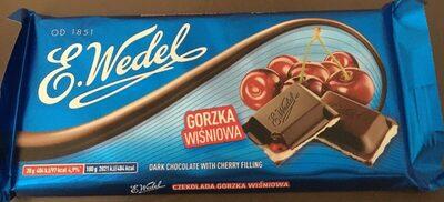 Czekolada gorzka Wiśniowa - Produkt - pl