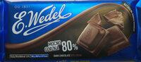 Dark chocolate 80% cocoa, mocno gorzka - Product - en