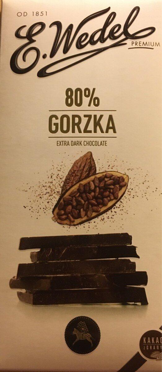 Wedel extra dark chocolate - Produkt - pl