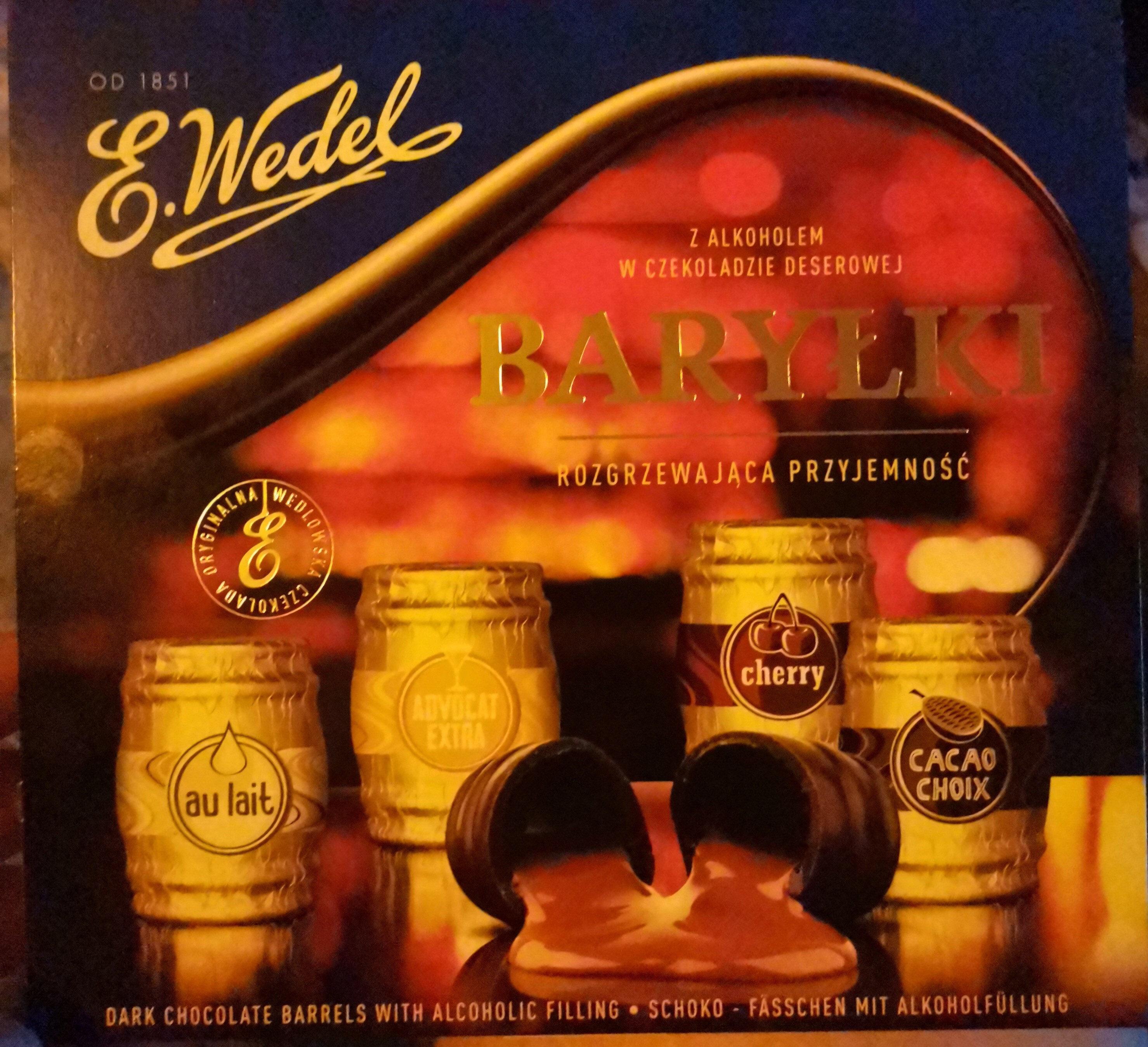 Czekoladki Wedel Baryłki - Produkt - fr