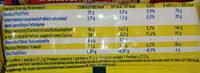 White Rye Flour - Voedingswaarden - en