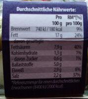 Antipasti Mix - Voedingswaarden - de