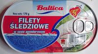 Filety śledziowe w sosie pomidorowym - Produkt