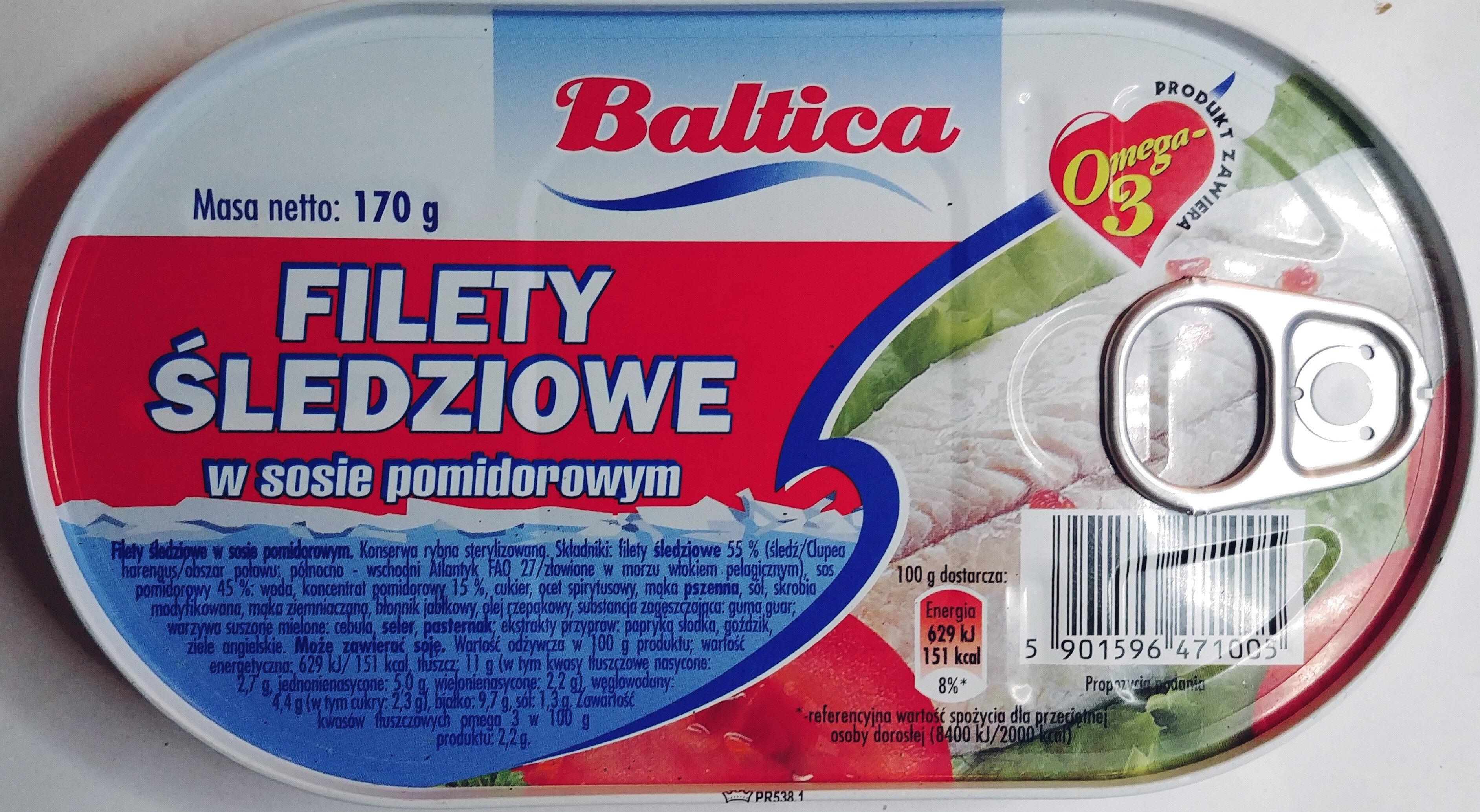 Filety śledziowe w sosie pomidorowym - Product - pl