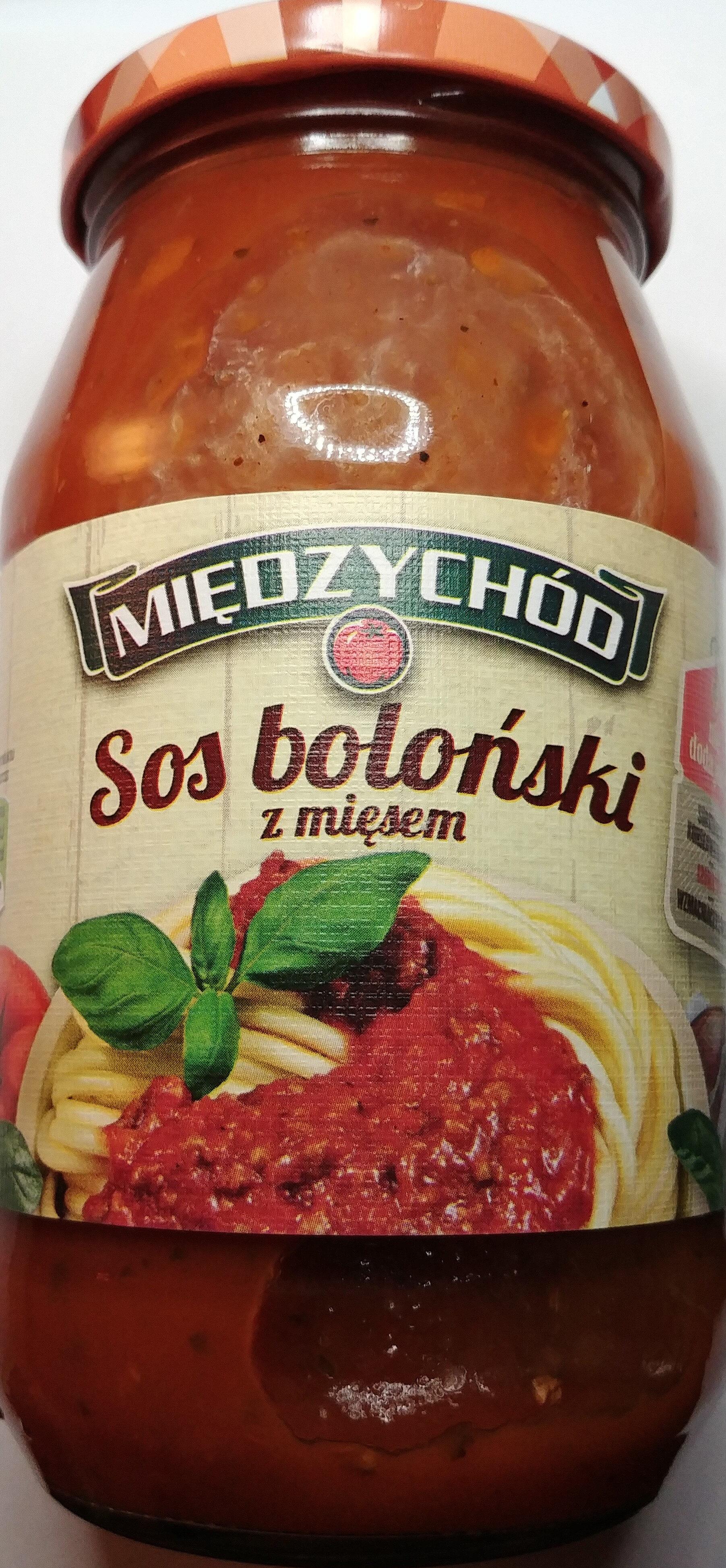 Sos Boloński z mięsem - Product - pl
