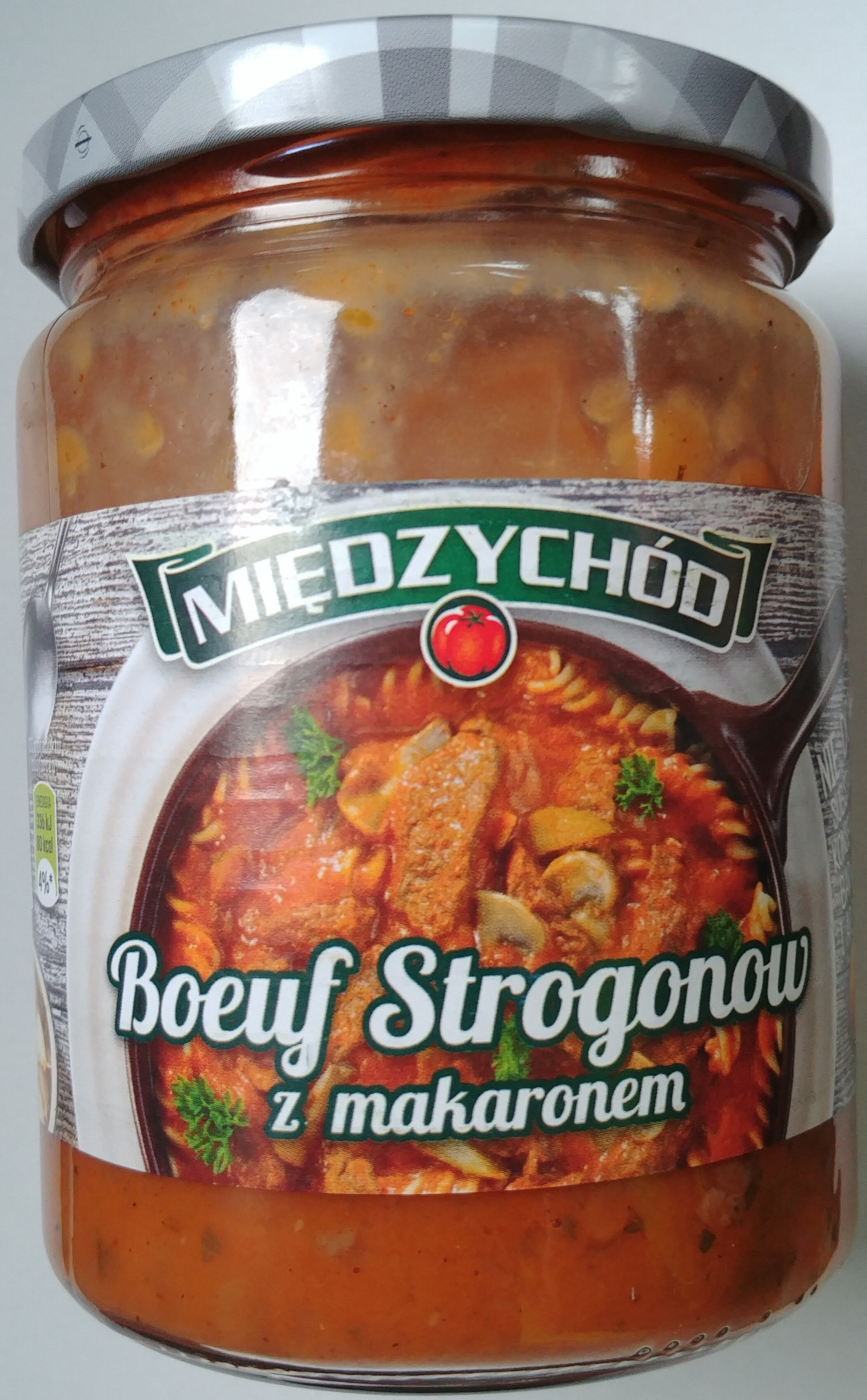 Boeuf Strogonow z makaronem - Product - pl