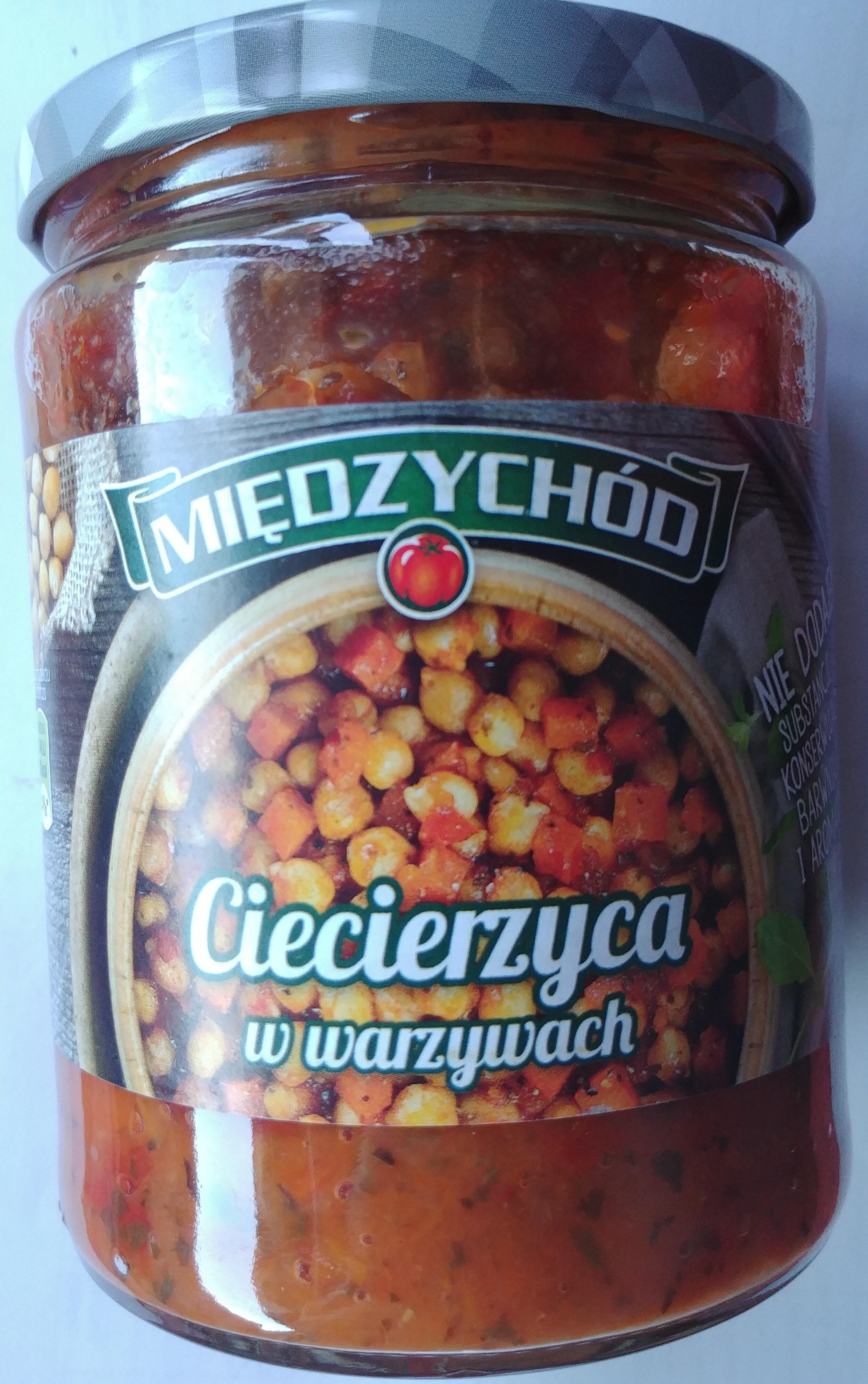 Ciecierzyca w warzywach - Produkt - pl