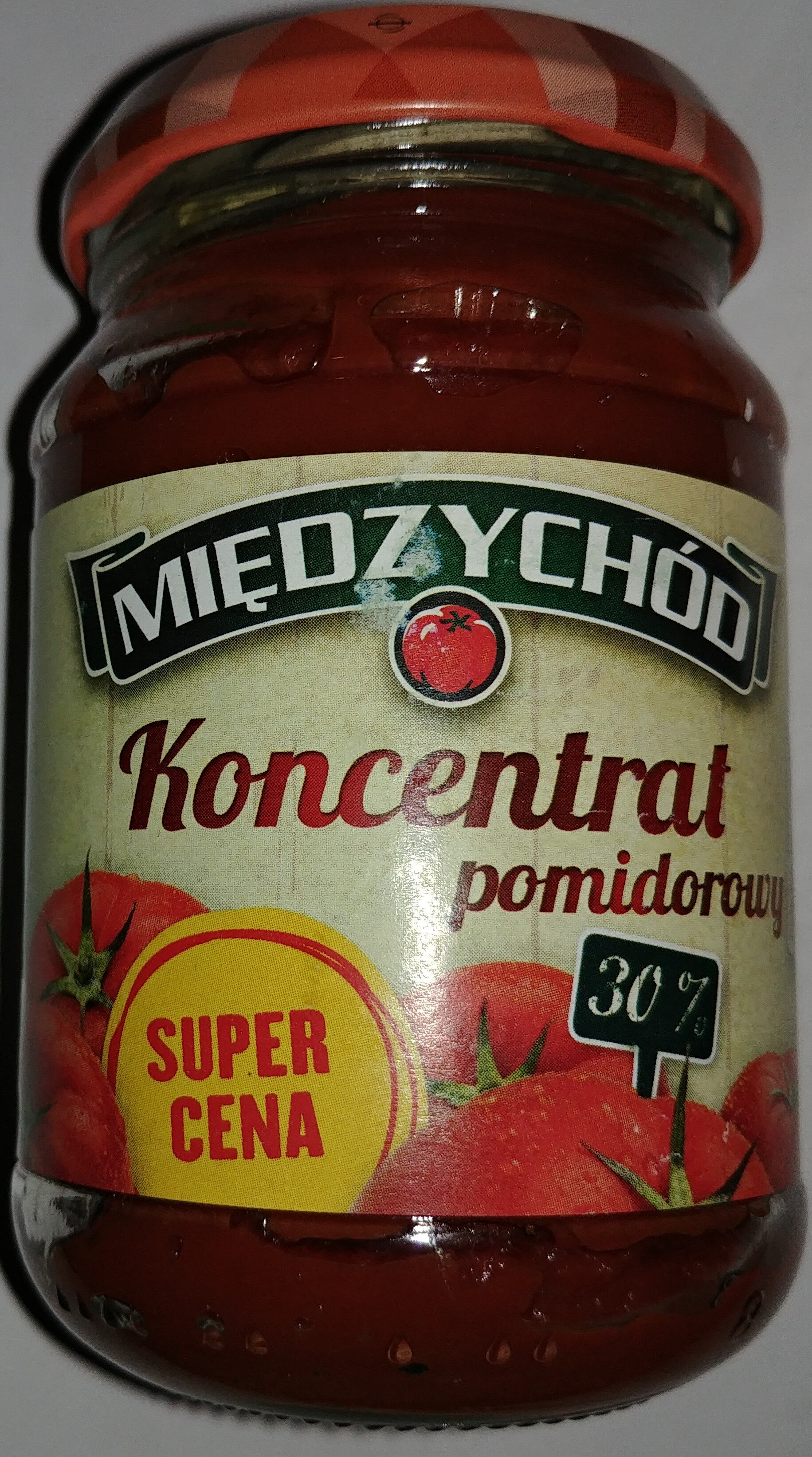 Koncentrat pomidorowy 30% - Product - pl