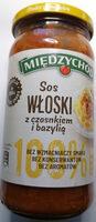 Sos włoski z czosnkiem i bazylią. - Product - pl