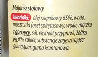 Majonez klasyczny - Ingredients - pl