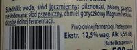Niefiltrowane - Ingredients - pl