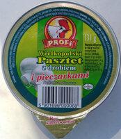 Pasztet z drobiem i pieczarkami - Produkt