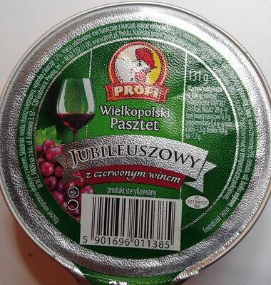 Pasztet wielkopolski z czerwonym winem - Produkt
