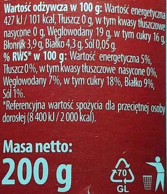Koncentrat pomidorowy 30% - Wartości odżywcze - pl