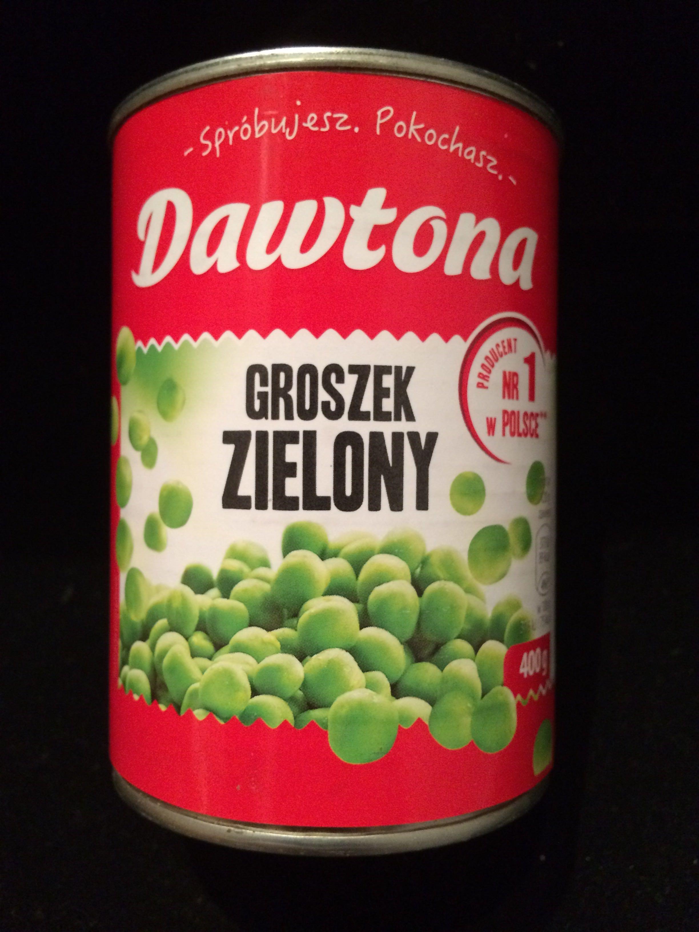 Groszek zielony konserwowy - Product - en