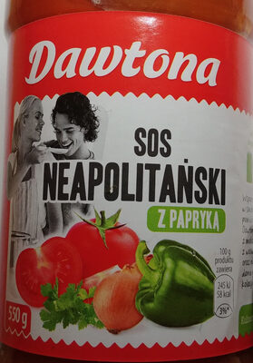Sos Neapolitański z papryką. - Produkt - pl