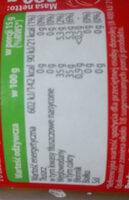 Dżem Brzoskwiniowy niskosłodzony - Wartości odżywcze - pl