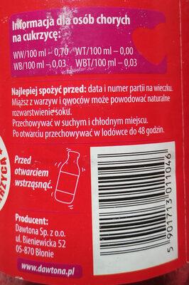 Apple and beetroot Juice - Produkt