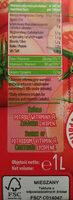 Sok pomidorowy - Wartości odżywcze
