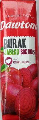 Sok z buraków z jabłkiem - Produkt - pl