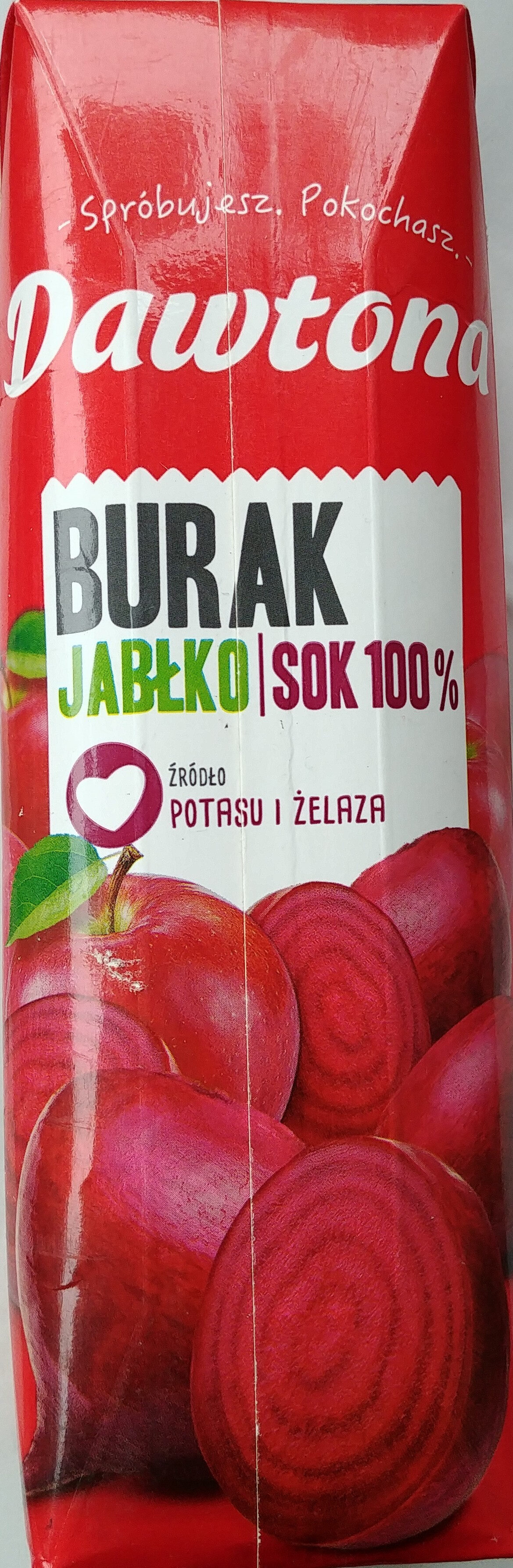 Sok z buraków z jabłkiem - Product - pl