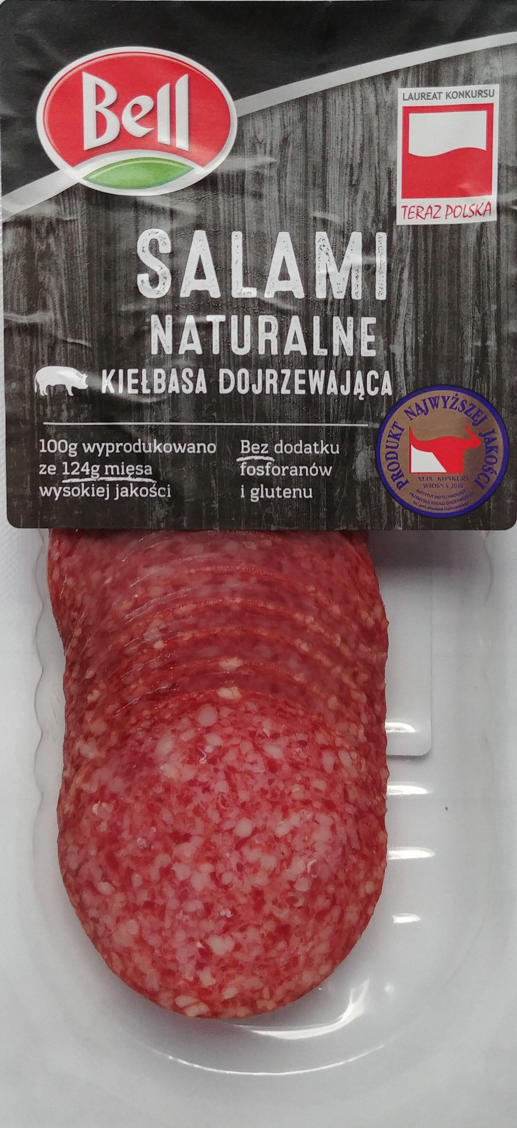 Salami naturalne - Produkt - pl