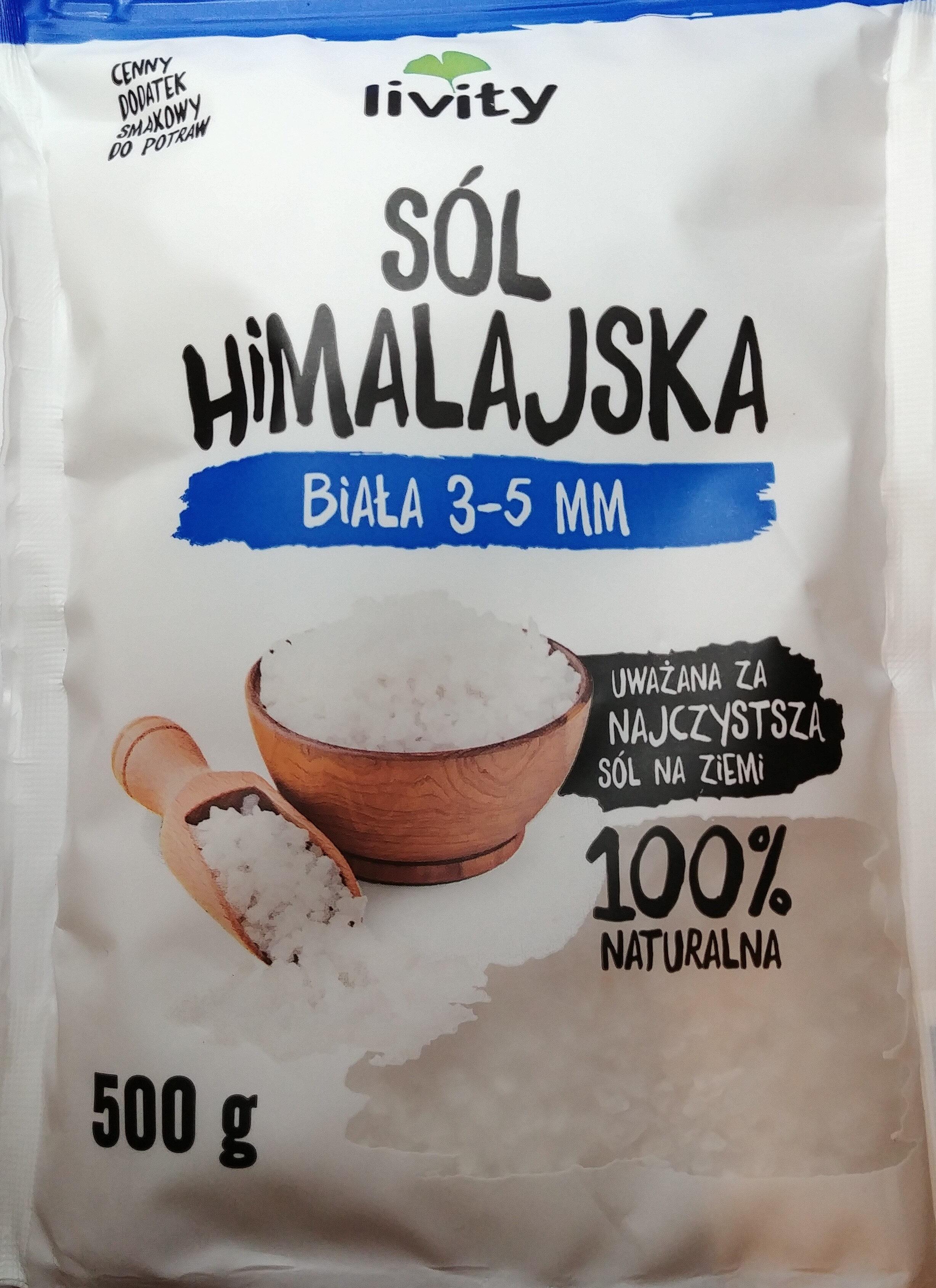 Sól himalajska biała 3-5 mm - Produkt