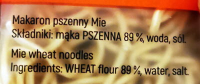 Makaron pszenny Mie - Ingredients - en