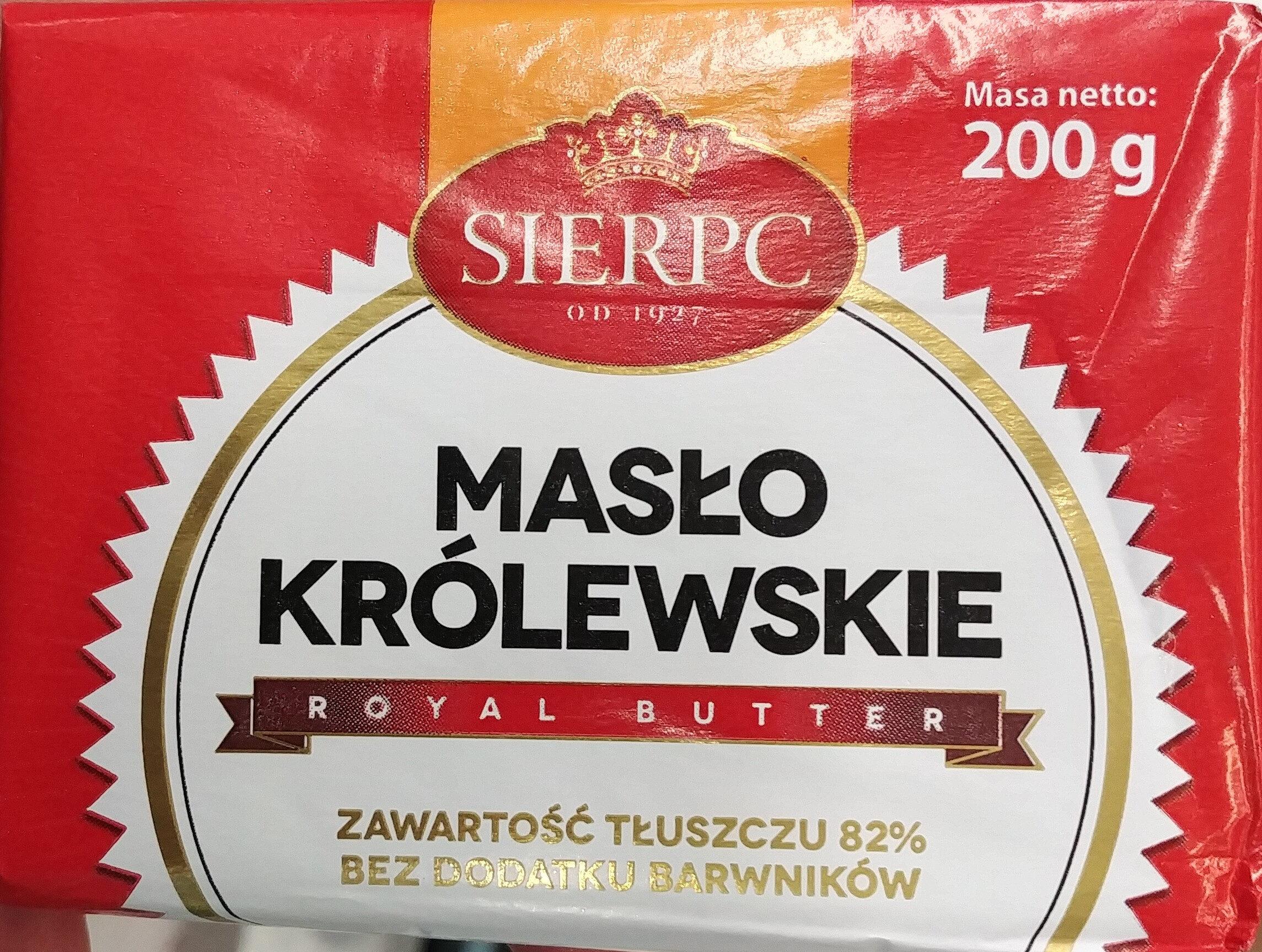 Masło królewskie - Produkt - pl