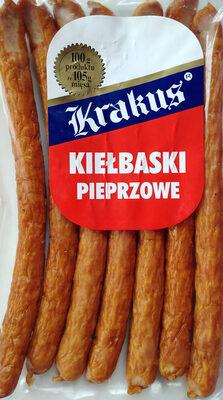 Kiełbaski pieprzowe - Produit