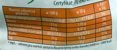Płatki jaglane Bio - Wartości odżywcze - pl