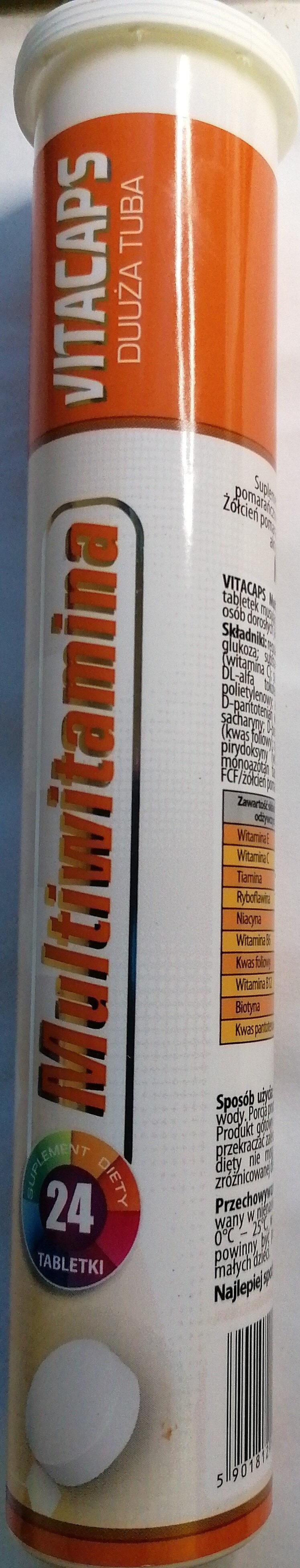 Vitacaps Multivitamina - Produit