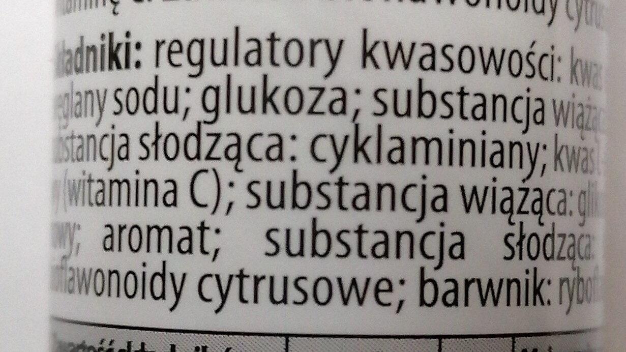 Witamina C plus Bioflawonoidy - Składniki - pl