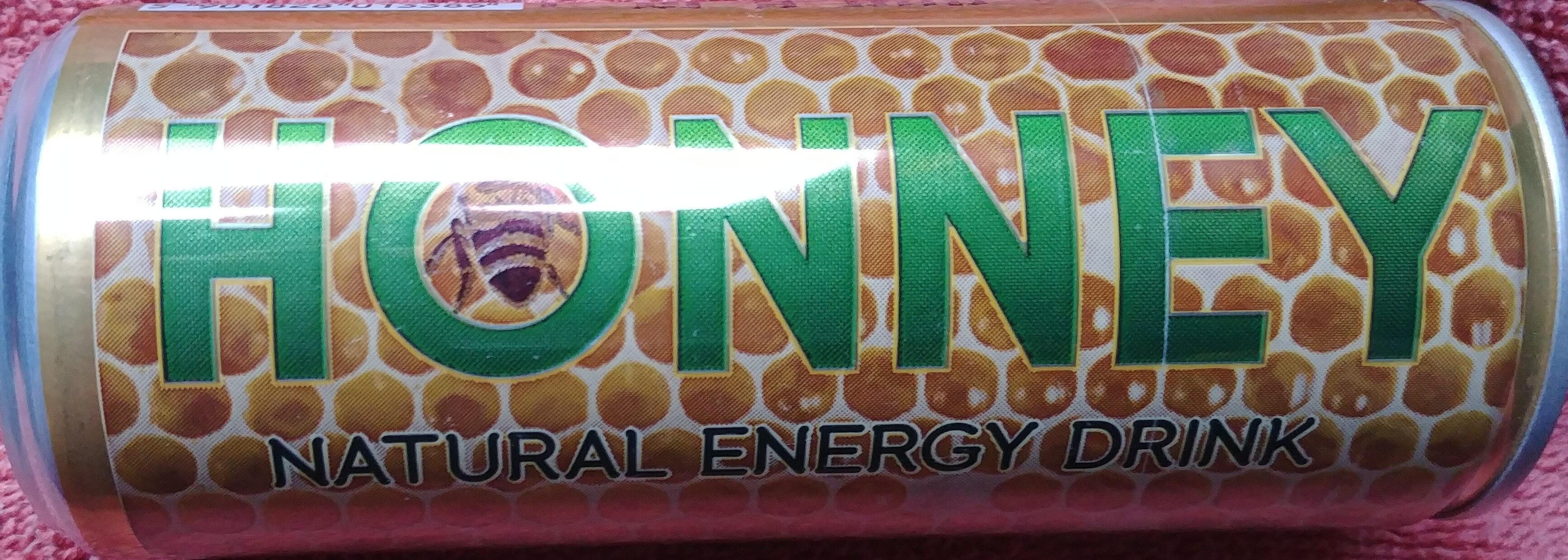 Napój energetyzujący z polskim miodem i kofeiną - Produkt