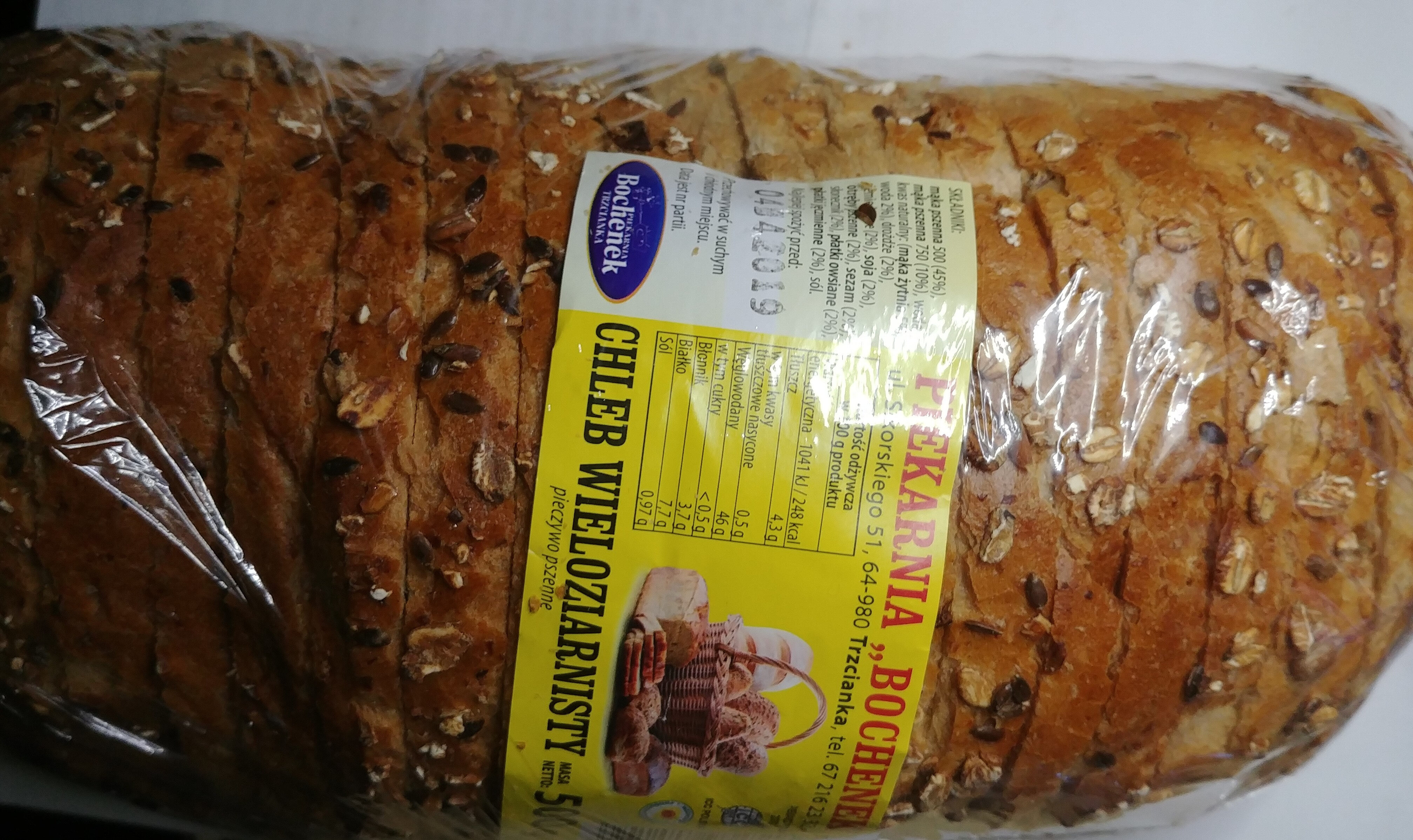 Chleb wieloziarnisty - Product - pl
