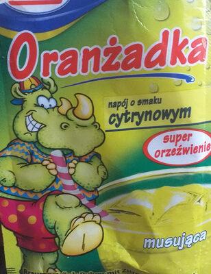 Oranżadka - napój o smaku cytrynowym - Product - pl
