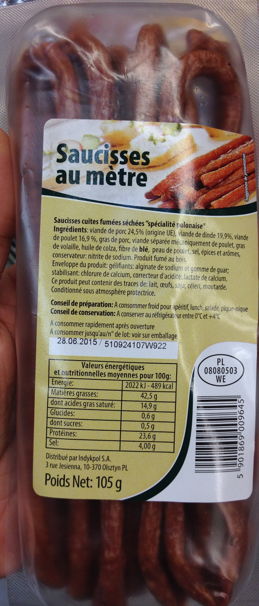 Saucisse au mètre - Product - fr