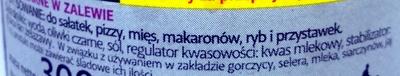Czarne Oliwki - Składniki - pl