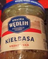 Kiełbasa krakowska - konserwa wieprzowa grubo rozdrobniona, sterylizowana - Produkt