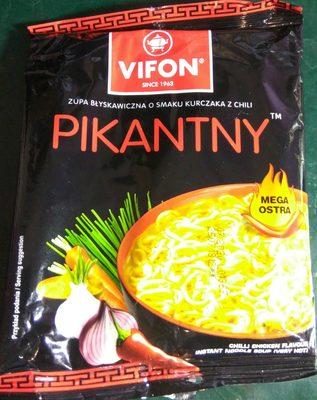 Pikantny. zupa błyskawiczna o smaku kurczaka z chili. - Product
