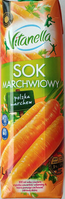 Sok marchwiowy przecierowy. - Produkt