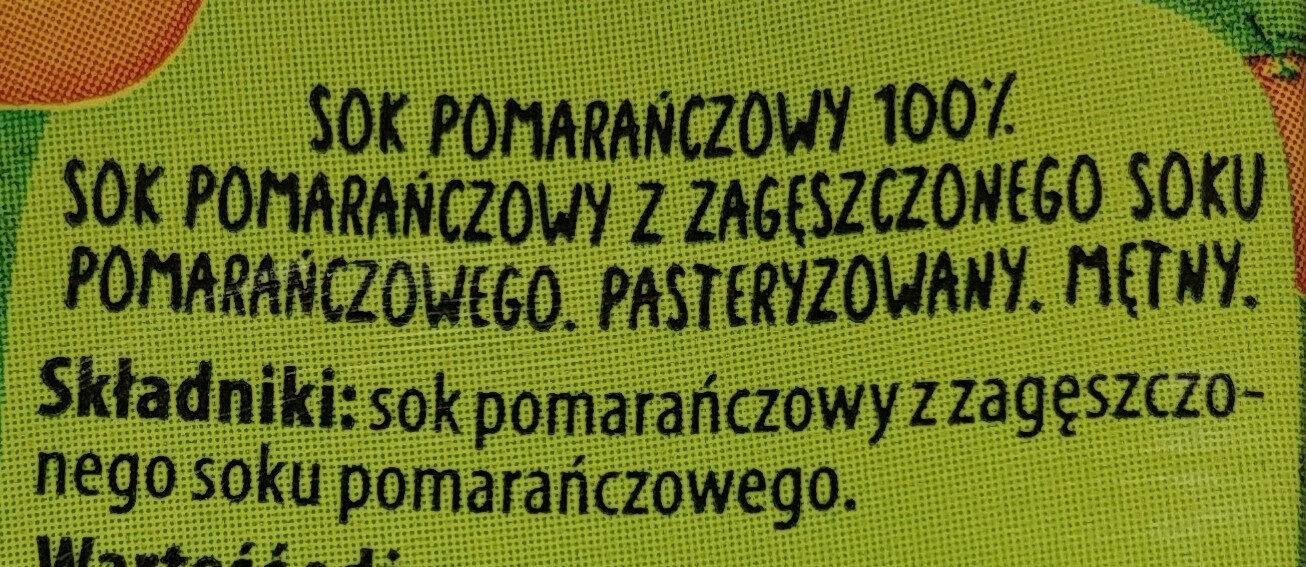 Sok pomidorowy - Składniki - pl