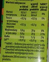 Sok pomidorowy - Wartości odżywcze - pl