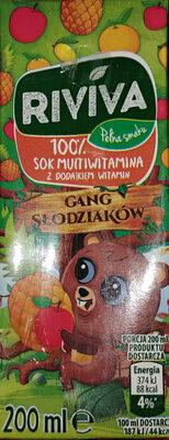 100% sok multiwitamina z dodatkiem witamin - Produkt - pl