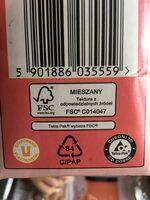 Сок - Instruction de recyclage et/ou informations d'emballage - ru