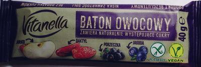 Baton owocowy - Produkt - pl