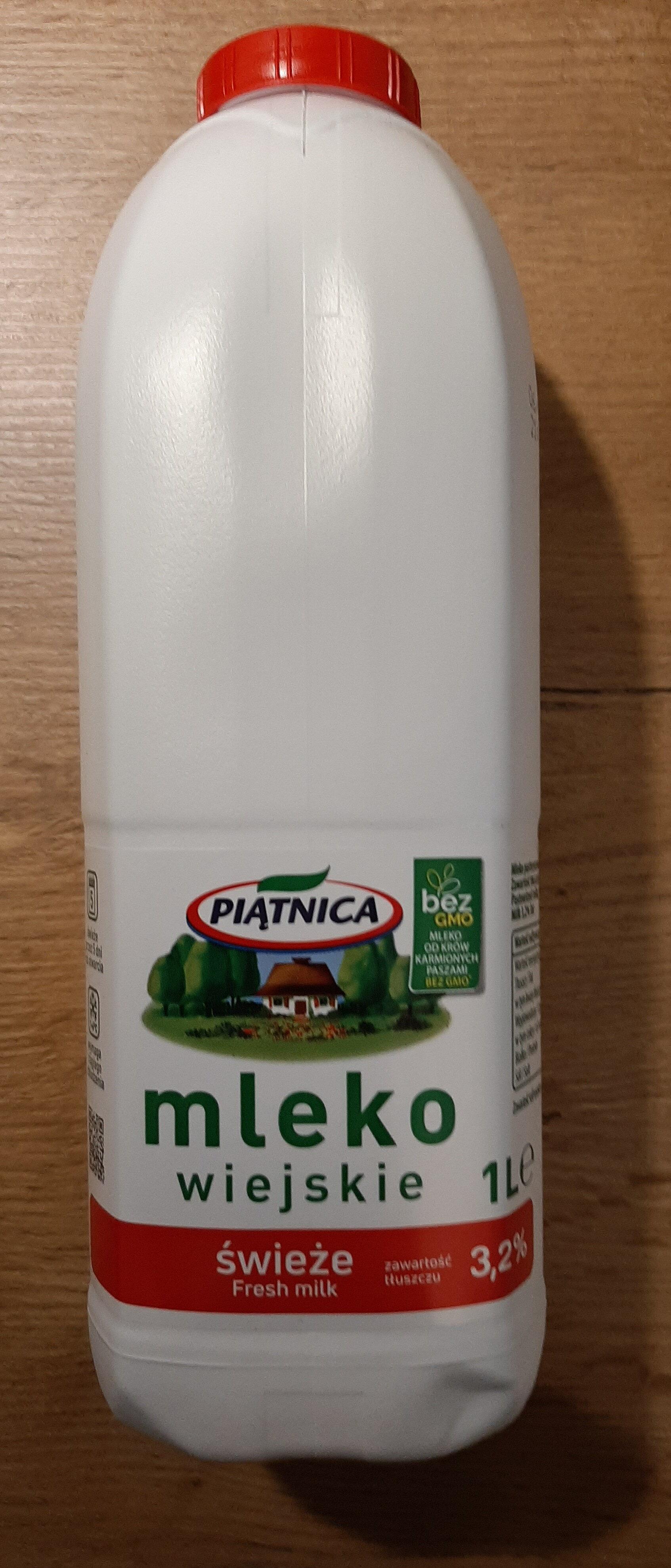 mleko - Produkt